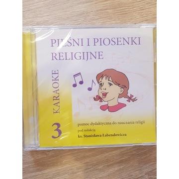 Pieśni i piosenki religijne karaoke 3 płyta Cd