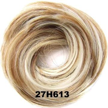 Gumka do włosów koczek kok - kolor 27H613#