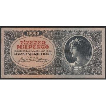 Węgry 10000 milpengo 1946 - seria A012
