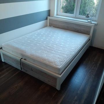 Łóżko z materacem Natura 160x200