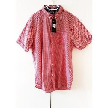 NOWA bawełniana koszula w kratkę  BRAVE SOUL XL