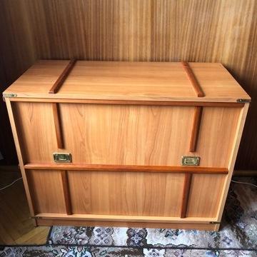 Skrzynia meble VOX drewniana jak nowa idealna