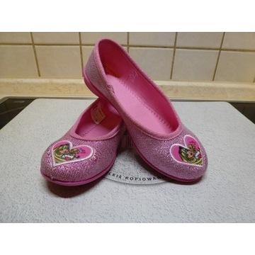 Kapcie dla księżniczki Barbie r.30