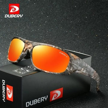 Markowe okulary Polaryzacyjne Dubery UV 400 CE