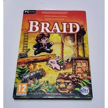 BRAID gra na PC pudełko jak nowa
