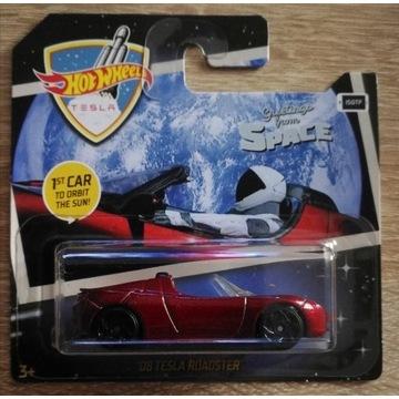 Hot Wheels Tesla Roadster '08 seria 2019