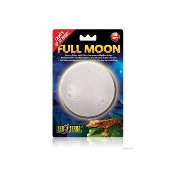 Full moon księżyc lampka nocna Exo terra 1W