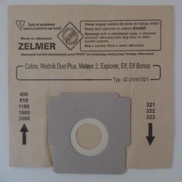 9 x Worek do odkurzacza / typ filtra IZ-2000/321