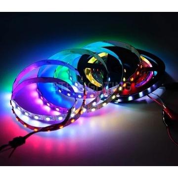 5m TAŚMA 300 LED RGB CYFROWA WS2812B 60D/m ARDUINO