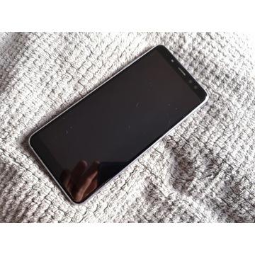 Wyswietlacz Samsung A8 2018 orchid grey