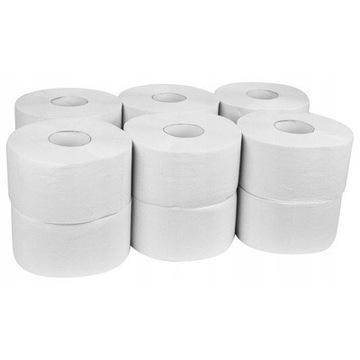Papier toaletowy JUMBO op 12 rolek 2w makulatura