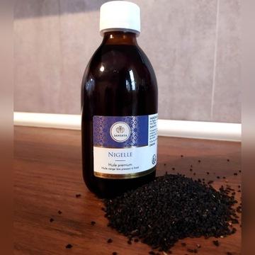 Olej z Czarnego Kminu Nigella Sativa 250ml Natural