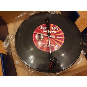 Oryginalny wiszący Zegar KARLSSON 36cm. vinyl