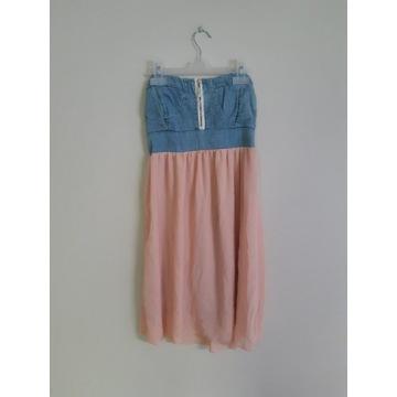 Ubrania ciążowe ładne jak nowe rozmiar S/M sukienk