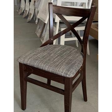 Krzesło MODERN 1 krzyżak orzech szybka dostawa