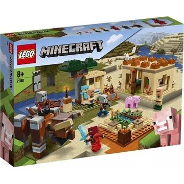 LEGO Minecraft Najazd złosadników 21160 prezent