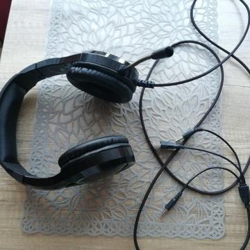 Słuchawki nauszne gamingowe