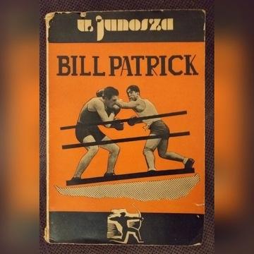 Wiktor Junosza- Bill Patrick, boks 1939 rok