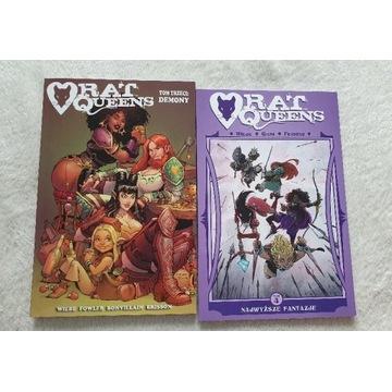 Rat Queens tom 3 i tom 4 komiks - Wiebe