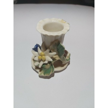 Karl Ens porcelanowy świecznik