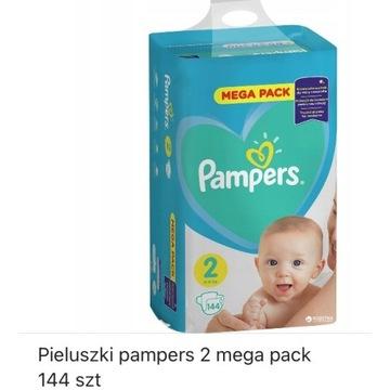 Nowe opakowanie Pampers Mega Pack, rozm 2