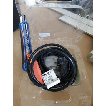 Kabel grzewczy przewód grzewczy 2m 32W
