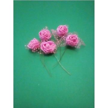 -90%Piękne róże wystrój stołu ślub urodziny 10szt