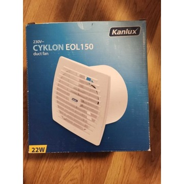 Kanlux wentylator kanałowy CYKLON EOL 150T