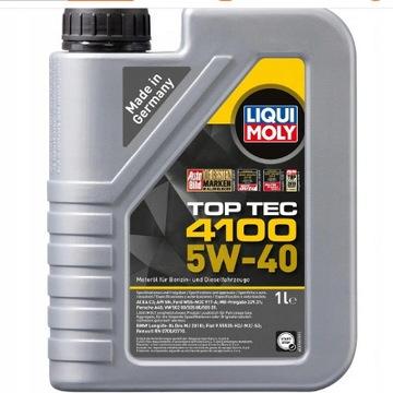 Liqui Moli Top Tec 4100 5W40 1L - z Niemiec