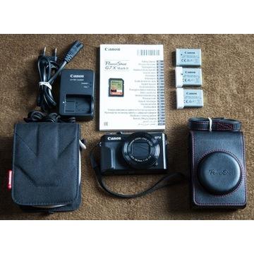 Canon PowerShot G7 X Mark II - zestaw