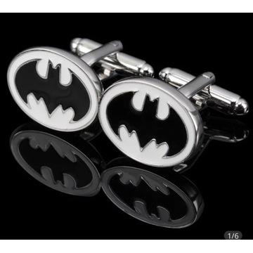 Spinki do mankietów Batman Superbohater stal