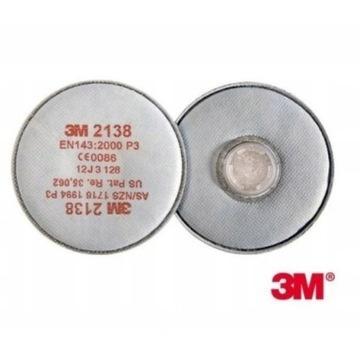 Filtr 3M  2138 P3 do masek -10 sztuk OCHRONA FFP3