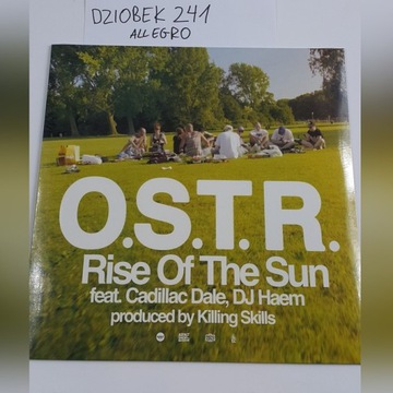 OSTR RISE OF THE SUN WINYL LIMITED  WWA 1/500