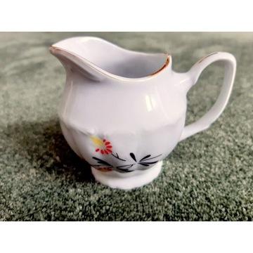 Porcelana Bogucice - mlecznik z serwisu kawowego
