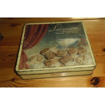 Lazzaroni Saronno biscotti -stara blaszana puszka