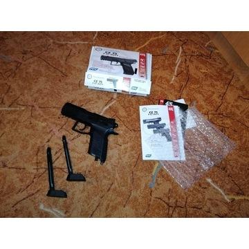 Wiatrówka Pistolet CZ 75 P 07 BlowBack OKAZJA