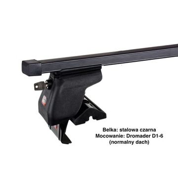 Bagażnik bazowy stalowy 120cm AMOS Dromader