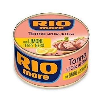 RIO MARE tuńczyk w oliwie z oliwek z cytryną 130 g