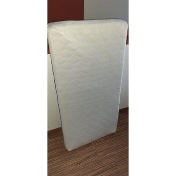 Łużeczko białe z materacem 120/65