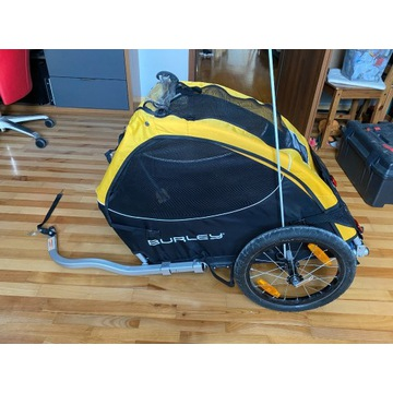 Przyczepka rowerowa dla psa Burley Tail Wagon