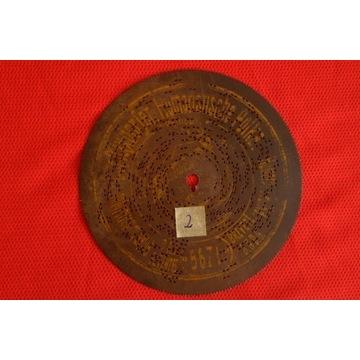 Płyta do polifonu 14,5cm NR.2