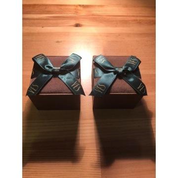 Dwa pudełeczka na biżuterię marki YES
