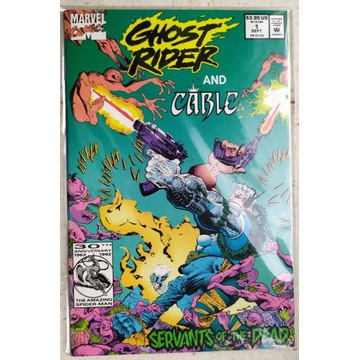 Ghost Rider and Cable Servants of the Dead #1
