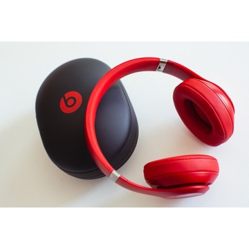 Słuchawki Beats Studio 3 Wireless, czerwone