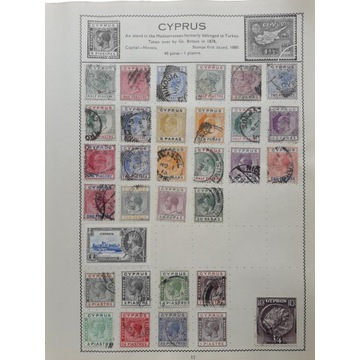 GB - kolonie angielskie - Cyprus