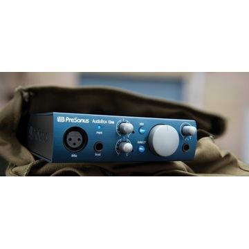 PreSonus AudioBox iOne + Mikro PreSonus M7 + Kabel