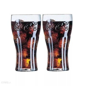 Szklanki Coca Cola komplet 6 szt zestaw szklanka