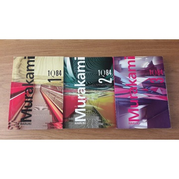 Haruki Murakami 1Q84 Trylogia Tom 1,2,3