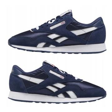 Męskie buty REEBOK CL NYLON CLASSIC 44 -używane