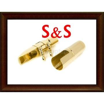 NOWY Ustnik metalowy S&S saksofon altowy #7 M086